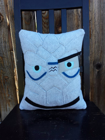 Mass Effect, Garrus, Liara, pillow, plush, cushion