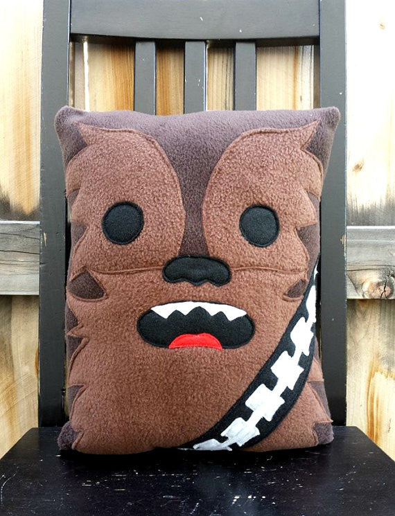 Chewbacca pillow, cushion, plush