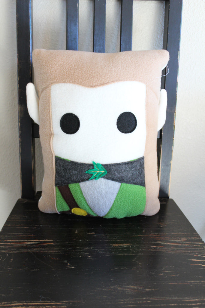 Legolas, Lord of the Rings, The Hobbit, pillow, plush