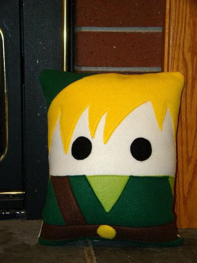 Legend of Zelda, Link, Zelda, pillow, plush, cushion