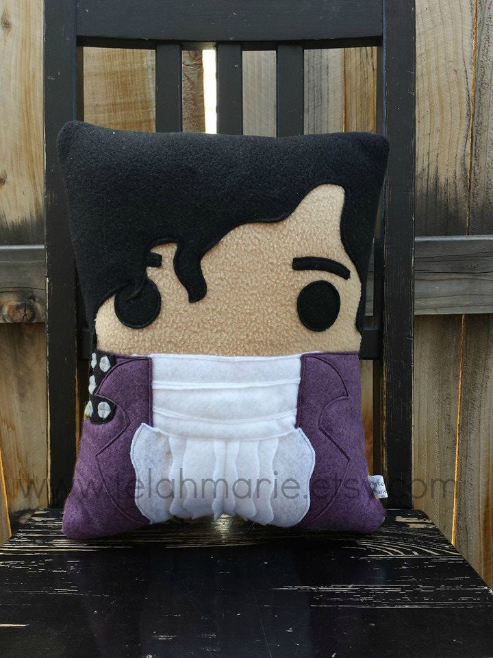 Prince pillow, decorative pillow