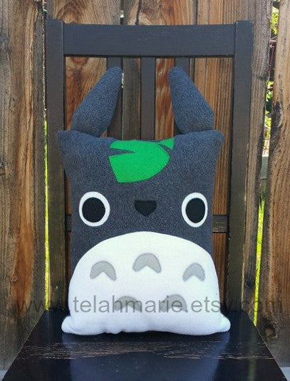 Totoro pillow, plush, cushion