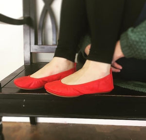 New! PREORDER The Storehouse Flats in Red Classic