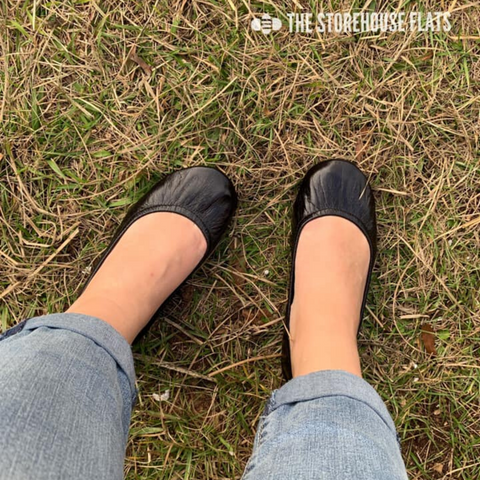 New! The Storehouse Flats - Licorice Black