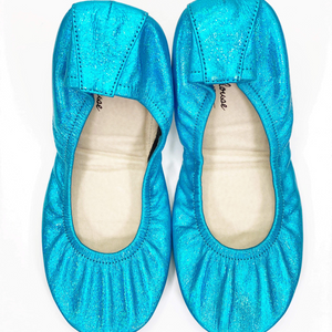 New! PREORDER The Storehouse Flats in Blizzard Blue Rainbow