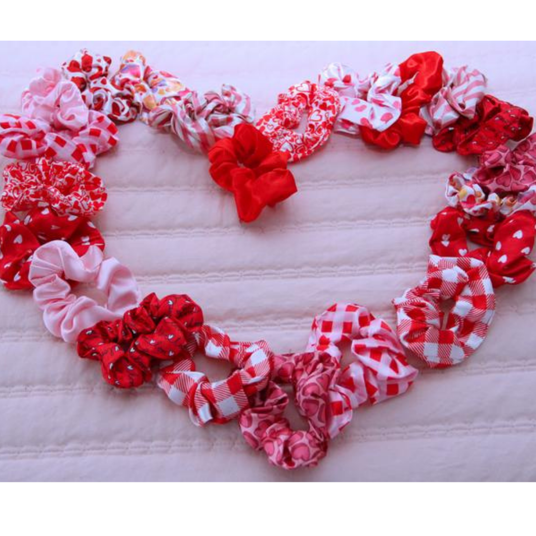 Red and Pink Scrunchies - Several Options!