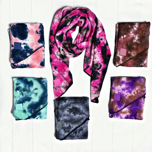 New! CC Tie Dye Scarf - 6 Colors!