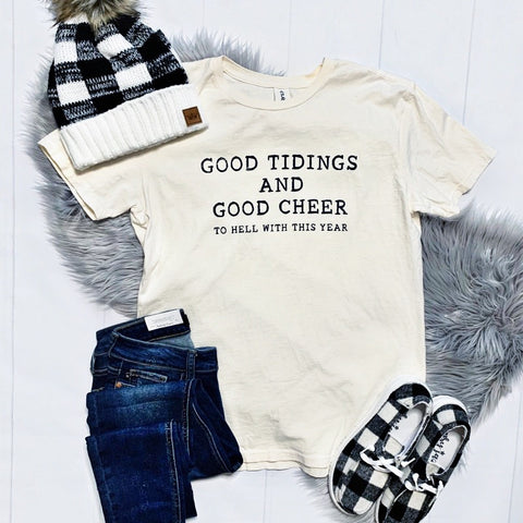 New! Good Tidings Tee