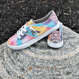 New! Blowfish Desert Sky Tie Dye Fruit Sneaker