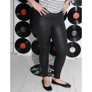 New! Black Pebble Leggings