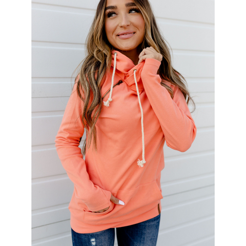 New! Ampersand Ave Miami Basic Doublehood Sweatshirt
