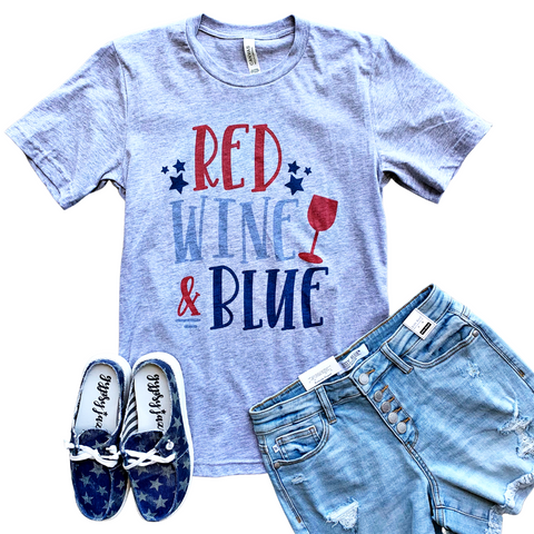 New! Red, Wine and Blue Tee