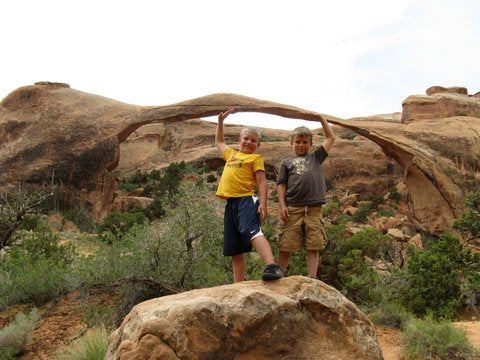 Play Unplugged Top Four Kid-Friendly Hikes In Arches National Park
