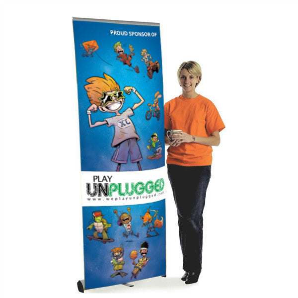 Retractable Banner Stand w/ Banner