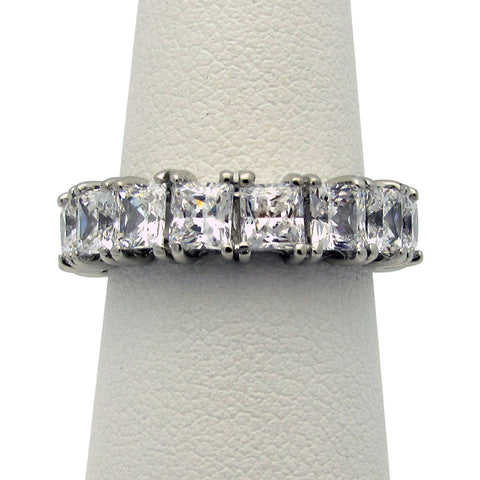 R0013 3.5 CT TW CZ PRINCESS CUT ETER BAND