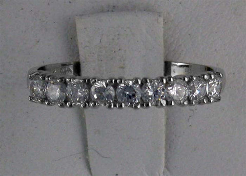 R0062 .50CT TW RD CZ ANNIVERSARY BAND