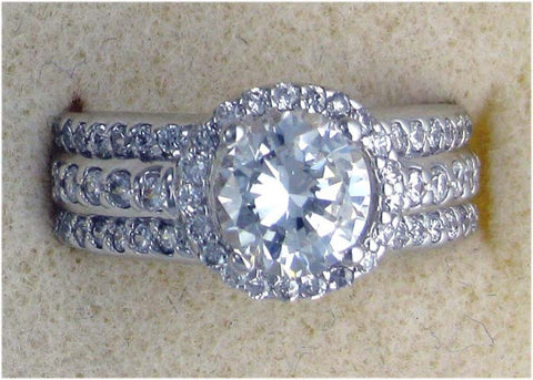 R0198 2.5 CT TW RD CENTER PAVE SIDES