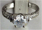 R0224 1.5 CT TW  1CT CZ  CENTER PAVE SIDES