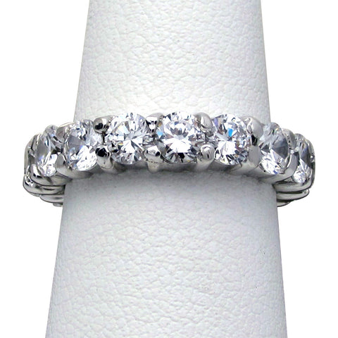 R0399 2ct tw Round Eternity Band Ring