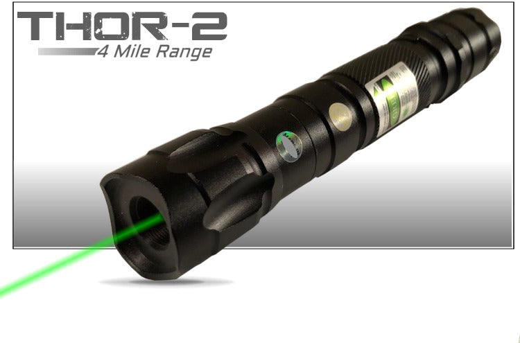 4 Mile Military Grade Green Laser Pointer Recharge Kit