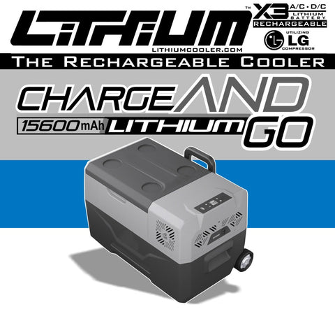 Lithium Cooler - 30 Quart - The Original Rechargeable cooler!