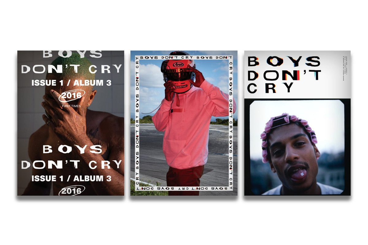 Why Boys Dont Read >> Boys Don T Cry Magazine Reissue
