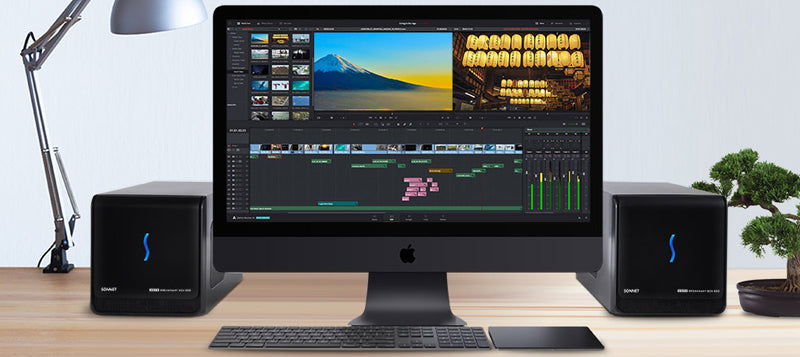 eGFX Breakaway Box 650s with iMac Pro