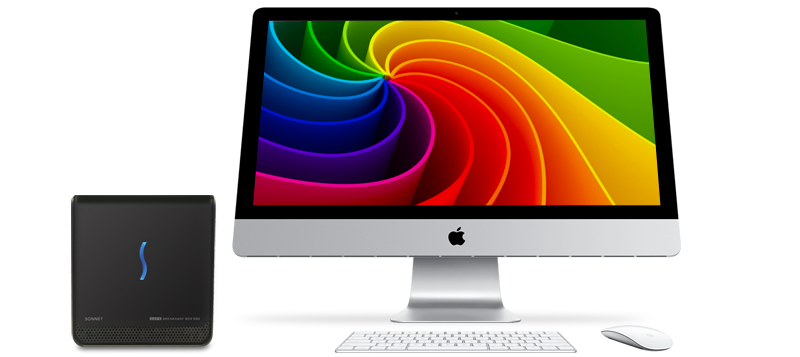 eGFX Breakaway Box 650 with iMac