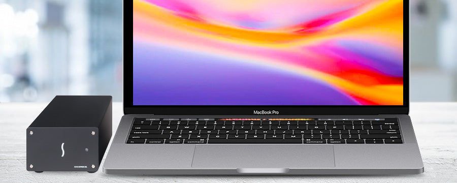 MacBook Pro with Echo Express SEL