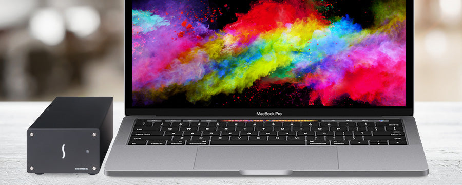 MacBook Pro with Echo Express SEL (Thunderbolt 3 Edition)