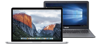 MacBook Pro and PC Notebooks