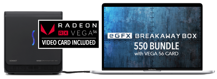egFX Breakaway Box 550/RX 56 Bundle