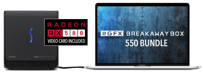 eGFX Breakaway Box 550 Bundle
