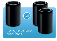 Install One or Two Mac Pro Computers