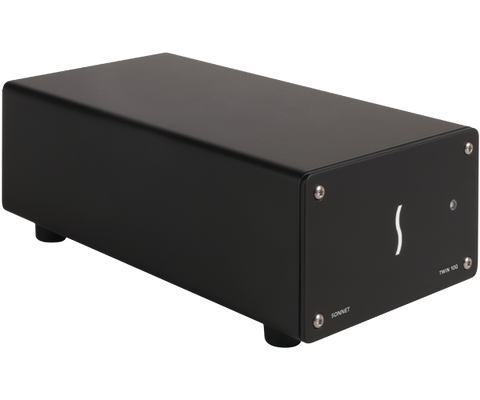 Twin10G (Dual-Port 10 Gigabit Ethernet Thunderbolt 2 Adapter)