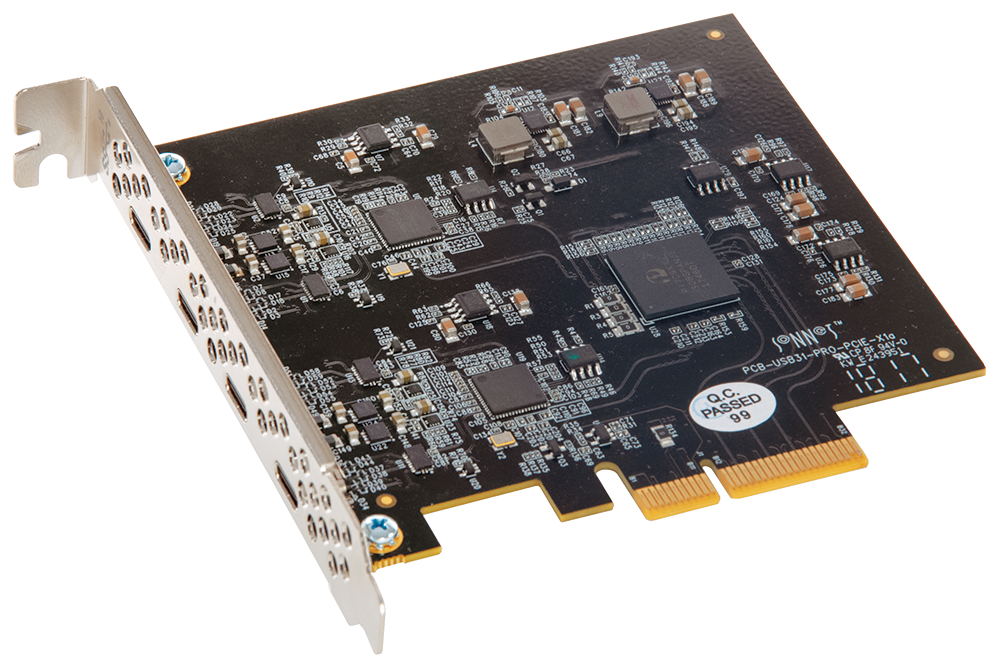 Sonnet Allegro Dual-Port 10Gbs USB-C PCIe Adapter Card with 15W Power Per Port