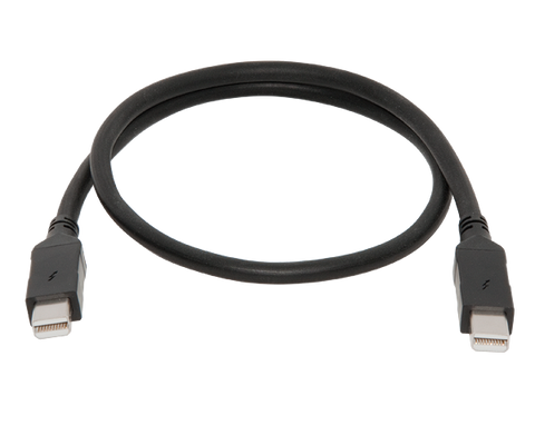 Thunderbolt Cable (Copper; 0.5-meter)