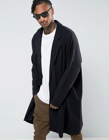 Outfits for Men : Oversized Coat