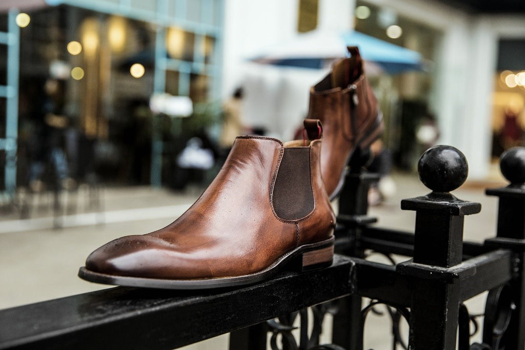 Dark Brown Dress Shoe Slip On