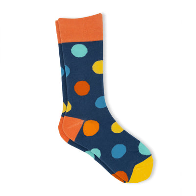 Huge polka dot socks