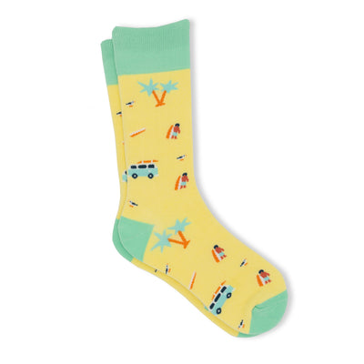 Men's beach theme socks