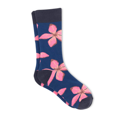 Men's Spring Flower Socks