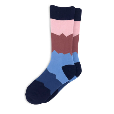 Women's mountain range socks