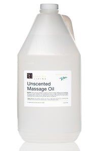Unscented Massage Oil