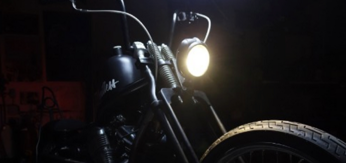 Relocating a Headlight on Honda Shadow - STEP-BY-STEP GUIDE