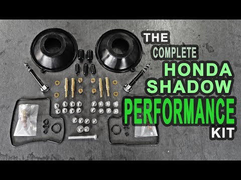 The BEST Performance Carb Rebuild Kit for Honda Shadow