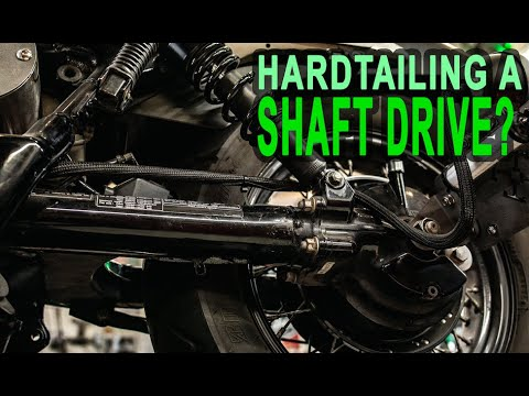 How Do I Hardtail a Drive Shaft Honda Shadow?