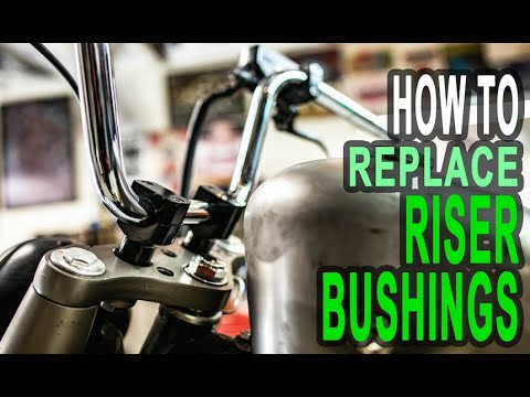 Replacing Honda Shadow Riser Bushings – HOW TO