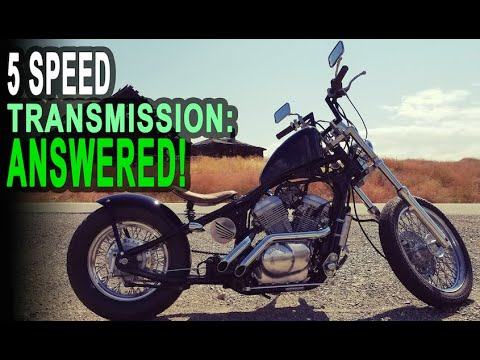 Can a Honda Shadow VLX600 Take a 5th Gear?