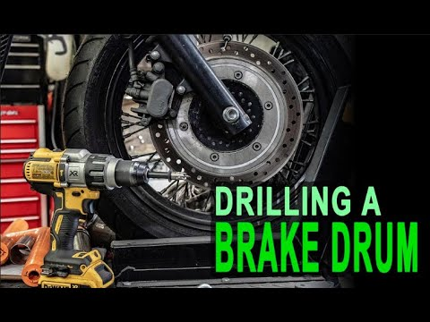 Do brake drum holes increase Honda Shadow performance?